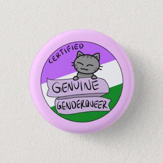 Genderqueer véritable badge