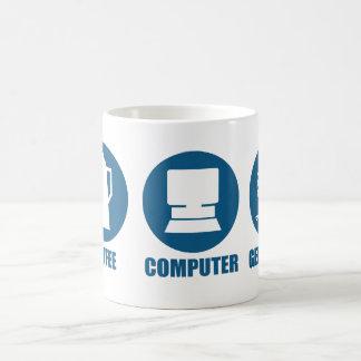 Généalogie d'ordinateur de café mug