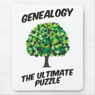 Généalogie - le puzzle final tapis de souris