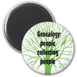 Généalogie : Les gens rassemblant des personnes Aimant Pour Réfrigérateur