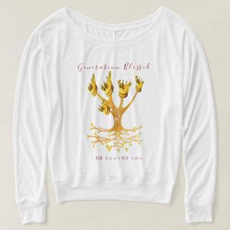"""""""Génération bénie"""", sweatshirt de Flowy des femmes"""