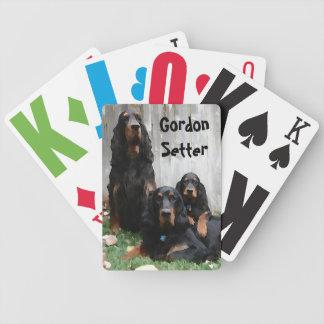 Générations de poseur de Gordon peignant des carte Jeu De Poker