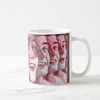 générations du rasage mug blanc