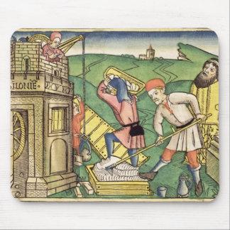 Genèse 11 1-9 construisant la tour de Babel, de t Tapis De Souris