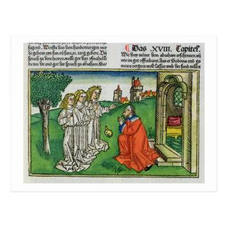 Genèse 18 2 Abraham et les trois anges, du Th Cartes Postales