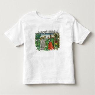 Genèse 18 2 Abraham et les trois anges, du Th T-shirt Pour Les Tous Petits