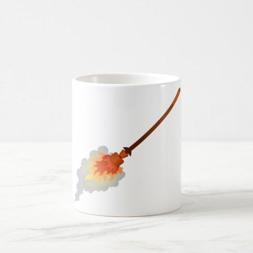 genêt à balais brûlant burning broom tasse à café