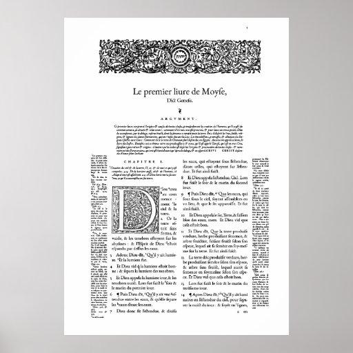 Genève 1564 posters