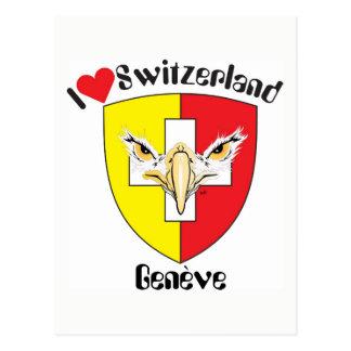 Genève - Genève carte postale de Suisse