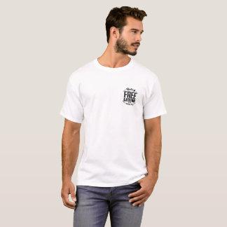 Genève libre par radio - chemise de base t-shirt