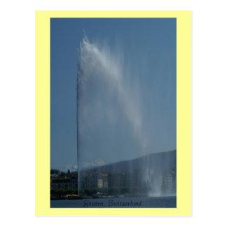 Genève, Suisse Carte Postale