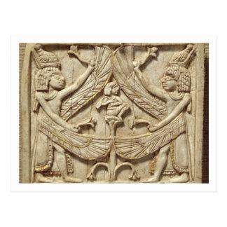 Génies à ailes, période assyrienne, c.750 AVANT Cartes Postales