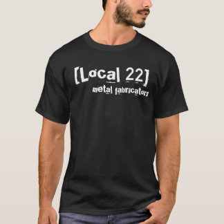 [Gens du pays 22], constructeurs en métal T-shirt
