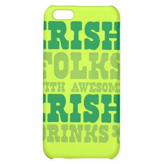 GENS IRLANDAIS AVEC LES BOISSONS IRLANDAISES IMPRE COQUES iPhone 5C