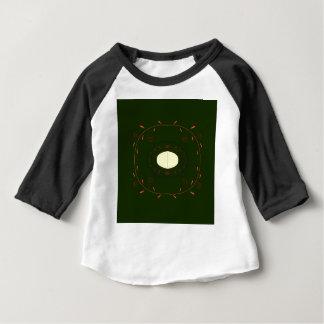 Gens ornementaux tirés par la main de mandala t-shirt pour bébé