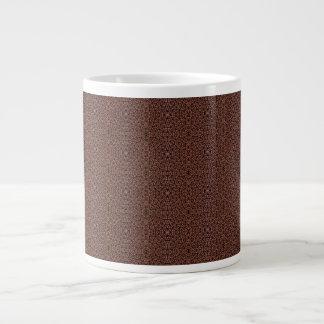 [GEO-BRO-1] Motif de pavé de Brown Mug Jumbo