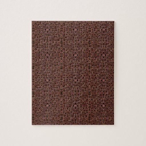 [GEO-BRO-1] Motif de pavé de Brown Puzzle