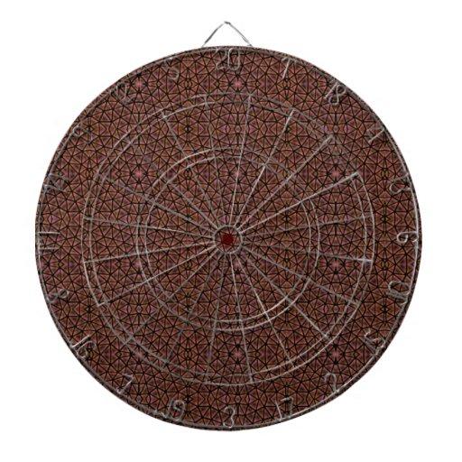 [GEO-BRO-1] Motif de pavé de Brown Jeux De Fléchettes