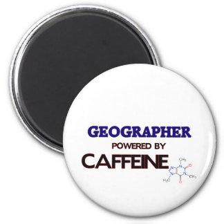 Géographe actionné par la caféine magnets