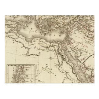 Géographie des Hébreux Carte Postale