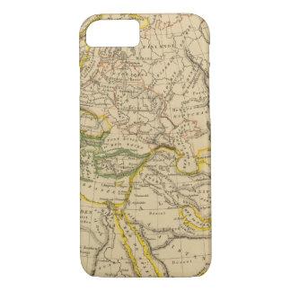 Géographie des Moyens Âges Coque iPhone 7