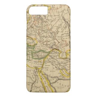 Géographie des Moyens Âges Coque iPhone 7 Plus