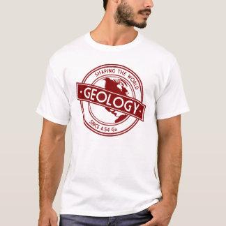 Géologie formant le logo du monde (Amérique du T-shirt