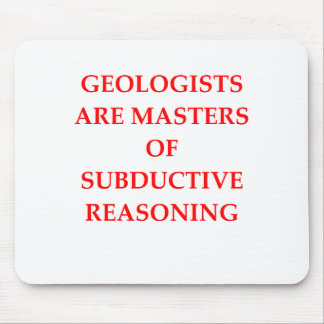 géologie tapis de souris
