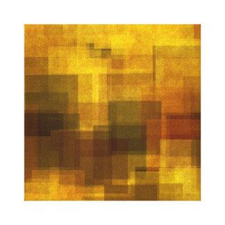 géométrique abstrait coloré vintage d'art toiles