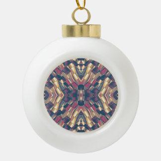 Géométrique moderne multicolore boule en céramique