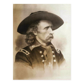 George Armstrong Custer circa des 1860s Carte Postale