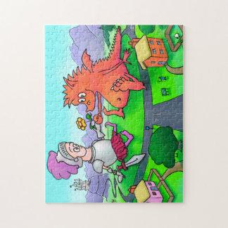 George et le puzzle de dragon