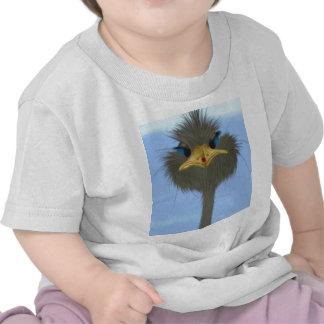 George et son T-shirt de nourrisson de visiteur