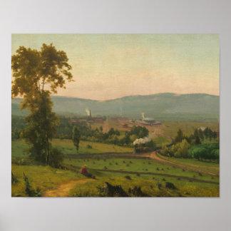 George Inness - la vallée de Lackawanna Poster