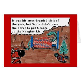 George le dragon carte de vœux