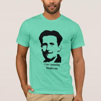 "George Orwell ""1984"" T-shirts de citation -"