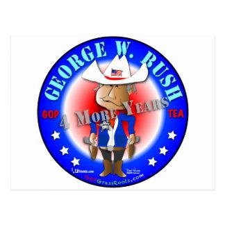 George W. Bush Carte Postale