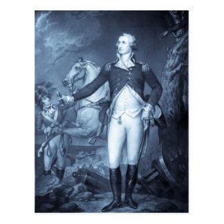 George Washington aux cartes postales de Trenton