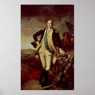 George Washington chez Princeton, 1779 Poster
