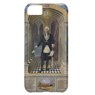 George Washington le maçon II Étui iPhone 5C