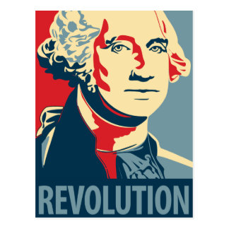 George Washington - révolution : Carte postale
