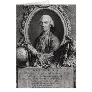 Georges-Louis Leclerc Comte de Buffon Carte De Vœux