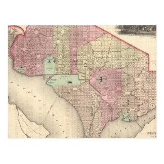 Georgetown et la ville de Washington Carte Postale