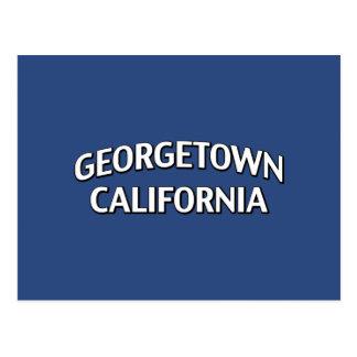 Georgetown la Californie Carte Postale