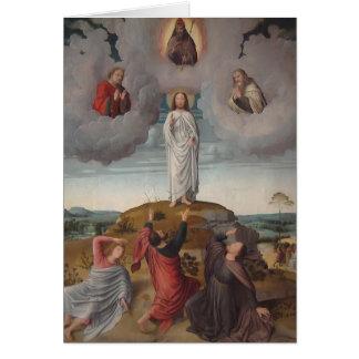 Gerard David le Transfiguration du Christ Cartes