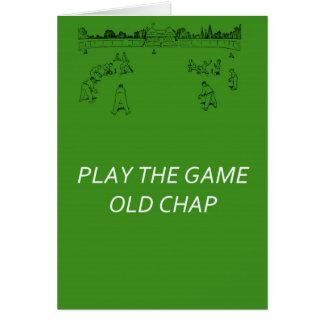 Gerçure de The Game de jeu vieille Cartes