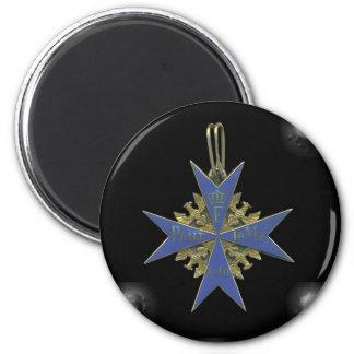 German Pour Le Merit Magnet Rond 8 Cm