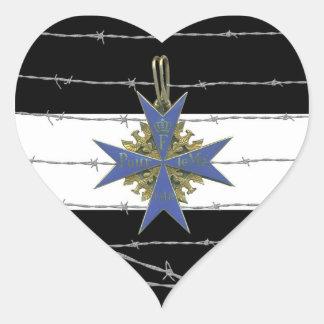 German Pour Le Merit Medal Adhésif