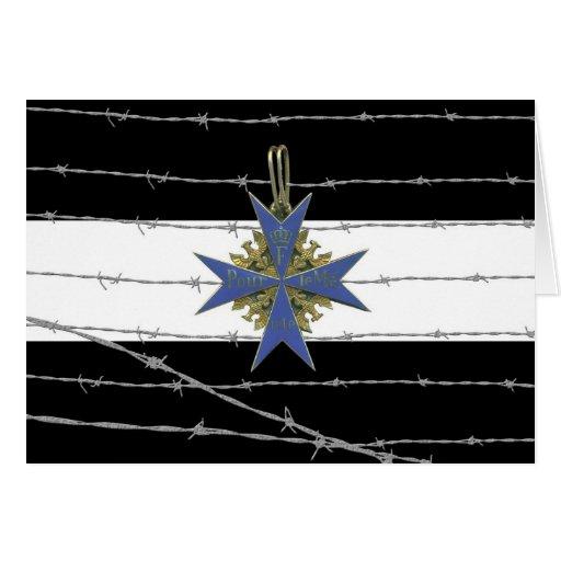 German Pour Le Merit Medal Carte De Vœux