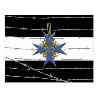 German Pour Le Merit Medal Carte Postale